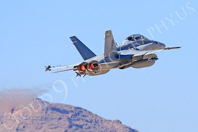 AB-F-18USMC 00022 McDonnell Douglas F-18D Hornet USMC VMFA(AW)-121 Nellis AFB by Peter J Mancus