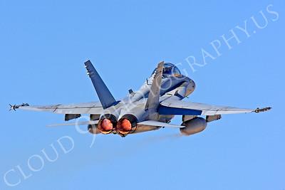 AB-F-18USMC 00004 McDonnell Douglas F-18D Hornet USMC VMFA(AW)-121 by Peter J Mancus