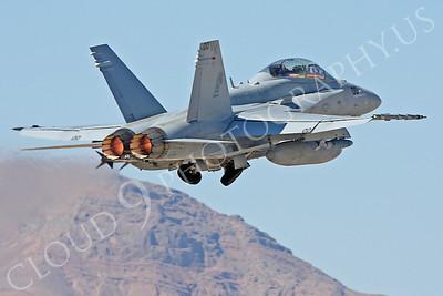 AB-F-18USMC 00042 McDonnell Douglas F-18D Hornet USMC VMFA(AW)-121 Nellis AFB by Carl E Porter