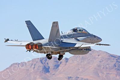 AB-F-18USMC 00028 McDonnell Douglas F-18D Hornet USMC VMFA(AW)-121 Nellis AFB by Carl E Porter