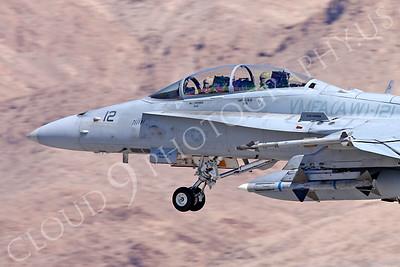 CUNMJ 00308 McDonnell Douglas F-18D Hornet USMC VMFA(AW)-121 Nellis AFB by Carl E Porter