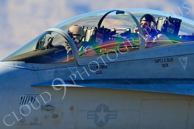 ACM 00290 McDonnell Douglas F-18D Hornet USMC VMFA(AW)-121 Nellis AFB by Peter J Mancus