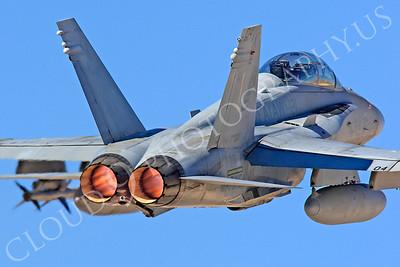 AB-F-18USMC 00010 McDonnell Douglas F-18D Hornet USMC VMFA(AW)-121 by Peter J Mancus