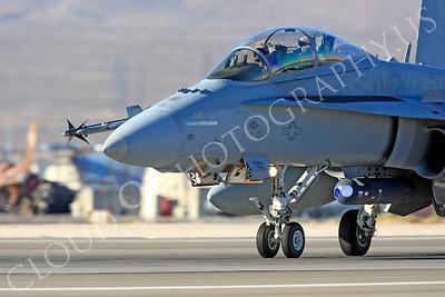 CUNMJ 00361 McDonnell Douglas F-18D Hornet USMC VMFA(AW)-121 Nellis AFB by Peter J Mancus