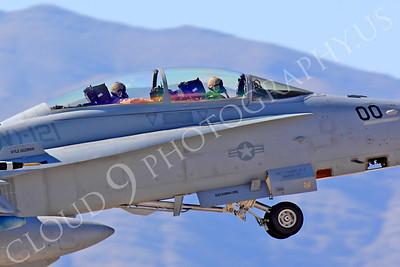 ACM 00289 McDonnell Douglas F-18D Hornet USMC VMFA(AW)-121 commanding officer's airplane Nellis AFB by Peter J Mancus