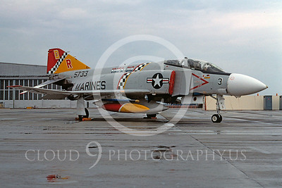 BICEN-F-4 00019 McDonnell Douglas F-4 Phantom II USMC July 1976 by Bill Curry