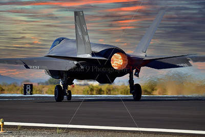 F-35C-USMC-VMFA-314 0012 A Lockheed-Martin F-35C Lightning II USMC stealth jet fighter VMFA-314 BLACK KNIGHTS VM tail code taking off in afterburner at NAS Fallon 9-2021, military airplane picture by Peter J  Mancus  852_0654  T