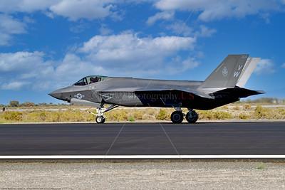F-35C-USMC-VMFA-314 0007 A Lockheed-Martin F-35C Lightning II USMC stealth jet fighter VMFA-314 BLACK KNIGHTS VM tail code taking off at NAS Fallon 9-2021, military airplane picture by Peter J  Mancus 852_0629  T