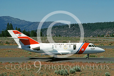 CG 00015 Dassault HU-25 Guardian June 1987 by Carl E Porter