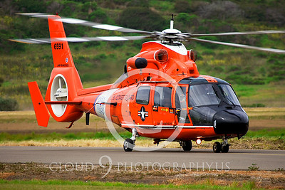 CG 00025 Eurocopter HH-65B Dolphin by Peter J Mancus