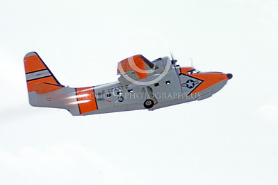 HU-16USCG 00002 A flying Grumman HU-16E Albatross USCG durig a JATO assist take-off 5-1960 military airplane picture by Peter B Lewis