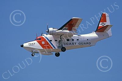 HU-16USCG 00008 A landing Grumman HU-16E Albatross USCG Sacramento 5-1979 military airplane picture by Peter B Lewis