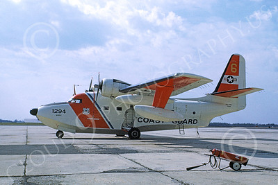HU-16USCG 00013 A static Grumman HU-16E Albatross USCG 1294 Mobile 5-1968 military airplane picture by Ryan Gadula