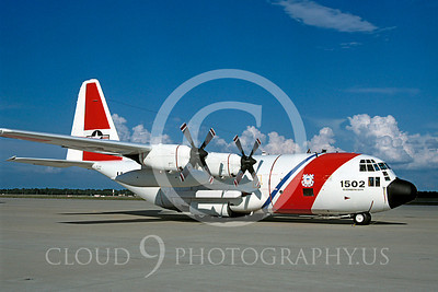 C-130USCG 00001 Lockheed HC-130H US Coast Guard Elizabeth City 7 August 1998 by Peter J Mancus