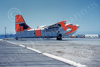 P5MUSCG 00011 A static Martin P5M Marlin USCG NAS North Island 4-1980 military airplane picture by Clay Jansson