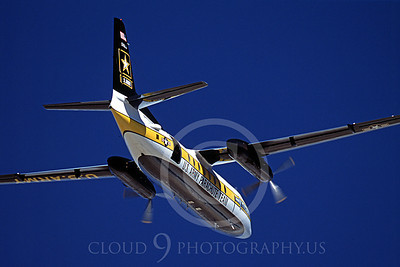 GoldK 00026 A flying Fokker C-31 Troopship US Army GOLDEN KNIGHTS 11-2003 military airplane picture by Peter J Mancus