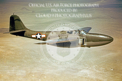P-59 00002 Bell P-59 Airacomet Official US Air Force Photograph