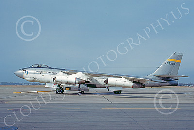 B-47USAF 00015 A static Boeing B-47 Stratojet USAF 532280 11 March 1970 military airplane picture by Jack D Morris