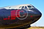 MMM 00004 An impressive number of mission markings on a USAF Boeing B-52D Stratofortress strategic bomber named