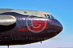MMM 00005 An impressive number of mission markings on a USAF Boeing B-52D Stratofortress strategic bomber named
