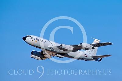 KC-135USAF  00002 Boeing KC-135E Stratotanker USAFR 1986 by Peter J Mancus