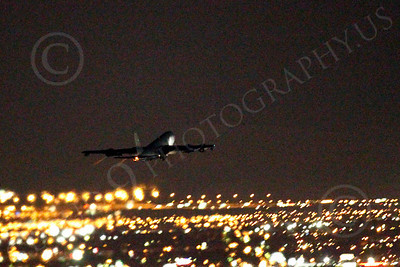 KC-135USAF 00068 Boeing KC-135 Stratotanker USAF at night by Peter J Mancus