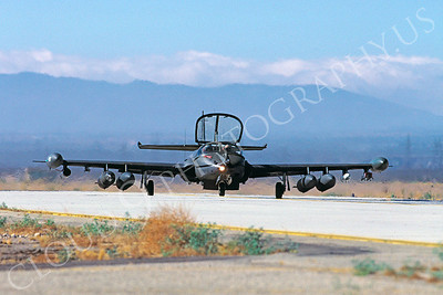 A-37USAF 00001 Cessna A-37 Dragonfly USAF August 1987 George AFB by Peter J Mancus