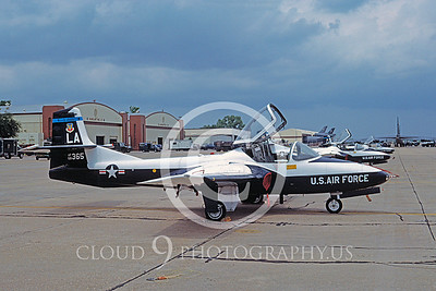 T-37USAF 00017 Cessna T-37 Tweetie Bird USAF 28 April 1994 by Brian C Rogers via AASS