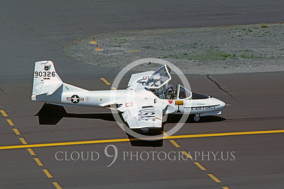 T-37USAF 00013 Cessna T-37 Tweetie Bird USAF June 1986 by Carl E Porter
