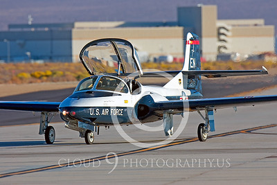 T-37USAF 00001 Cessna T-37 Tweetie Bird USAF Edwards AFB by Peter J Mancus