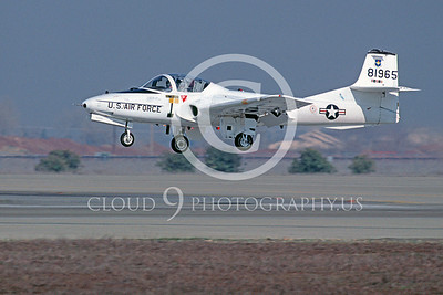 T-37USAF 00002 Cessna T-37 Tweety Bird USAF Dec 1989 by Peter J Mancus