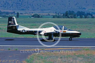 T-37USAF 00009 Cessna T-37 Tweety Bird USAF 1990 by Peter J Mancus