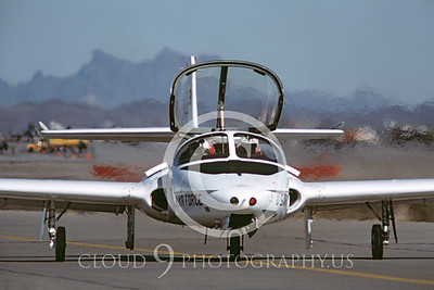 T-37USAF 00015 Cessna T-37 Tweetie Bird USAF Dec 1982 by Peter J Mancus