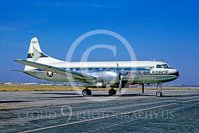 C-131USAF 00003 Convair C-131 Samaritan USAF 72552 LAX June 1964 by Bud Donato