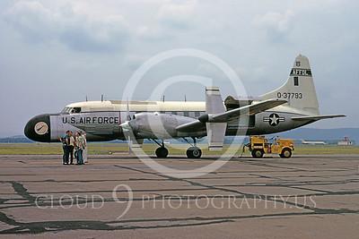 C-131USAF 00001 Convair NC-131H Samaritan USAF 37793 AFFDL June 1974 by Ron McNeil