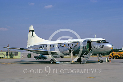 C-131USAF 00001 Convair T-29 McGuire AFB 7 Sept 1973 by Frank MacSorley