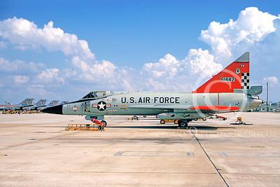 F-102USAF 00009 Convair F-102A Delta Dagger USAF 61447 57th FIS Tyndall AFB October 1972 by Roy Lock