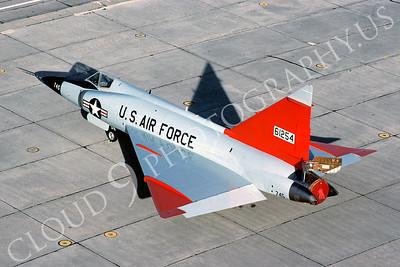 F-102USAF 00007 Convair F-102A Delta Dagger USAF 61254 Tyndall AFB October 1980 by Peter J Mancus