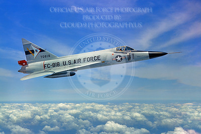 F-102USAF 00002 Convair F-102A Delta Dagger USAF 70818 Official USAF photograph produced by Cloud 9 Photography
