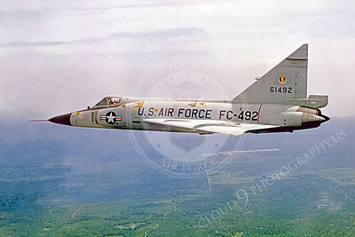 F-102USAF 00006 Convair F-102A Delta Dagger USAF 61492 Official USAF photograph produced by Cloud 9 Photography