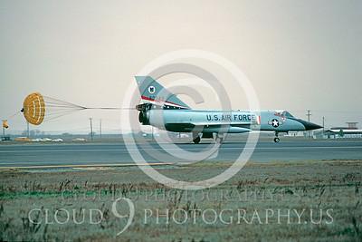 CHUTE 00062 Convair F-106 Delta Dart USAF Jan 1978 by Peter J Mancus