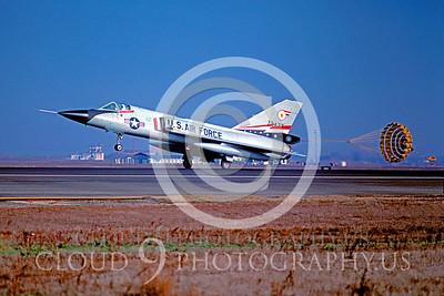 CHUTE 00061 Convair F-106A Delta Dart USAF Oct 1978 by Peter J Mancus