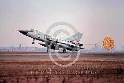CHUTE 00018 Convair F-106 Delta Dart 84th FIS USAF by Peter J Mancus