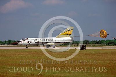 CHUTE 00039 Convair F-106A Delta Dart 5th FIS USAF Oct 1980 by Peter J Mancus
