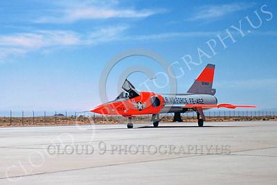 DG 00065 Convair F-106 Delta Dart USAF 60462 Edwards AFB by Clay Jansson