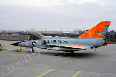 DG 00034 Convair F-106B Delta Dart USAF 72513 McClellan AFB December 1981 by Peter B Lewis