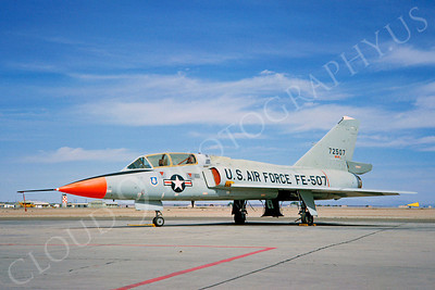 DG 00079 Convair F-106B Delta Dart USAF 72507 by Clay Jansson