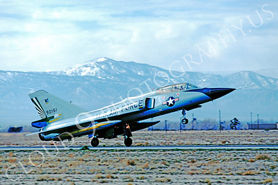 F-106BUSAF 00015 Convair F-106B Delta Dart USAF 90161 49th FIS George AFB by Peter J Mancus