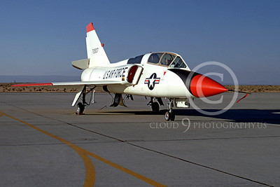 F-106BUSAF 00011 Convair F-106B Delta Dart USAF 92507 Edwards AFB by Peter J Mancus