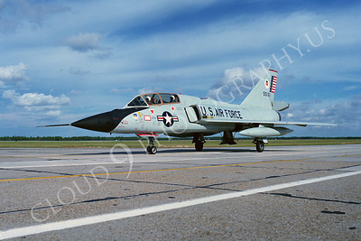 F-106BUSAF 00013 Convair F-106B Delta Dart USAF 90161 Air Defense Weapons Center Tyndall AFB by Peter J Mancus